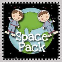 Free Preschool Printables: Space Pack