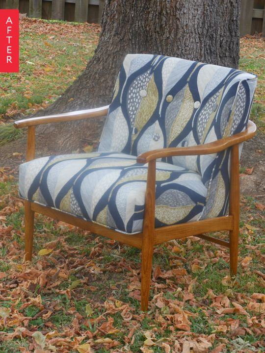 Before & After: A Cheap Chair Gets a Chic Update
