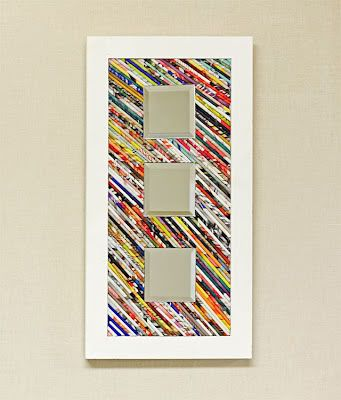 Guest Post: Rolled Magazine Frame ~ Madigan Made