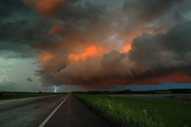 Storm clouds - Saskatchewan