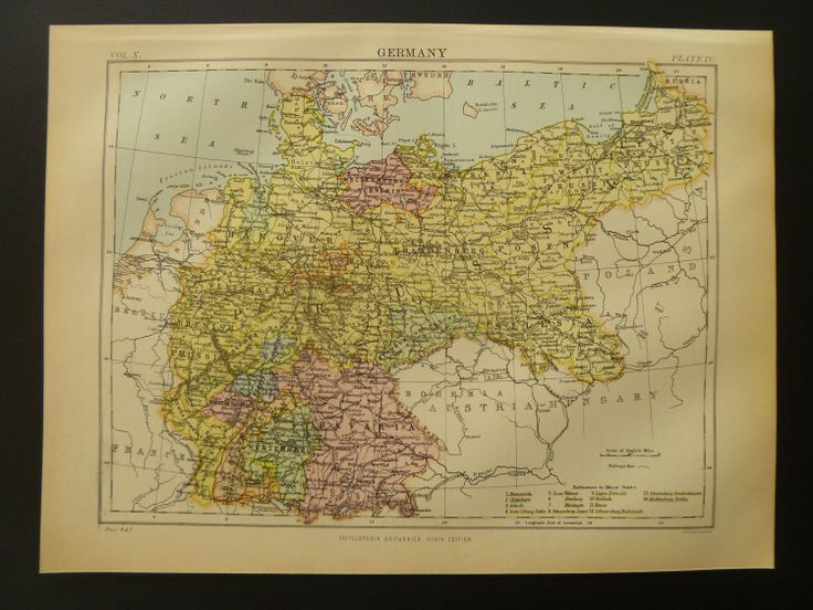 Best Maps Images On Pinterest Old Maps Vintage Maps And - Germany map by year
