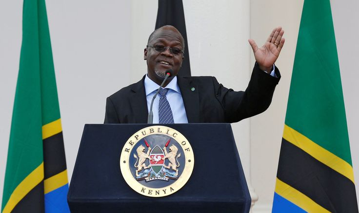 Government: This pictures shows that John Magufuli is making speech when he was the new president. John magufuli is the president of Tanzania. Many people like him because he is good example to others. Has a nickname bulldozer for building road around the country. Many like him as the president.