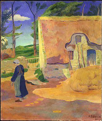 Paul Sérusier —Ferme au Pouldu (1890)