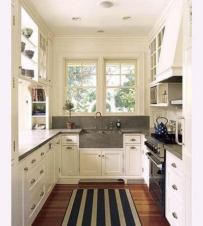 17 mejores ideas sobre pequeñas cocinas de galera en pinterest ...