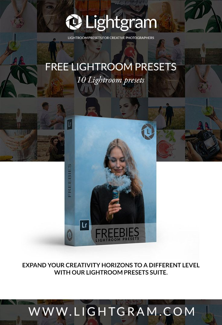 Download our free Lightroom Presets Collection www.lightgram.com #lightroom #lightroompresets #freebies