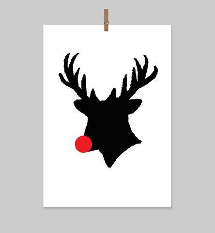 Rudolph Card - The Art Room