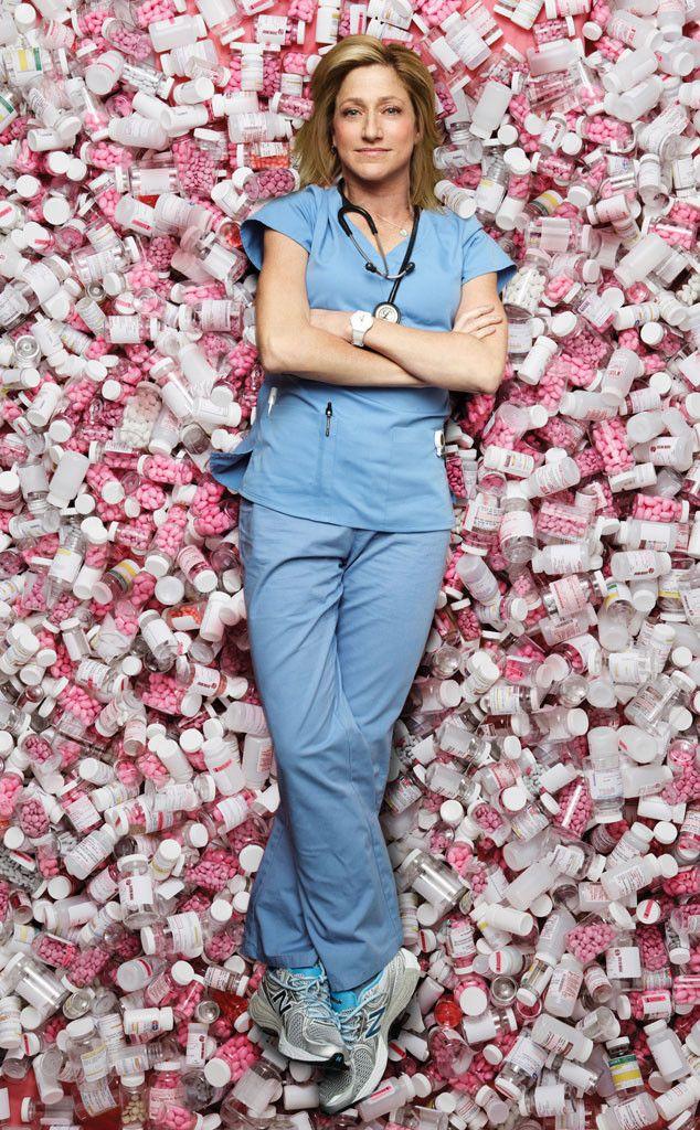 Nurse Jackie Renewed for Season 7, but There's a Cast Shakeup  Nurse Jackie, Edie Falco