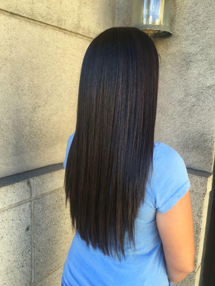 Dark Redken hair color by @amy_ziegler #versatilestrands#askforamy