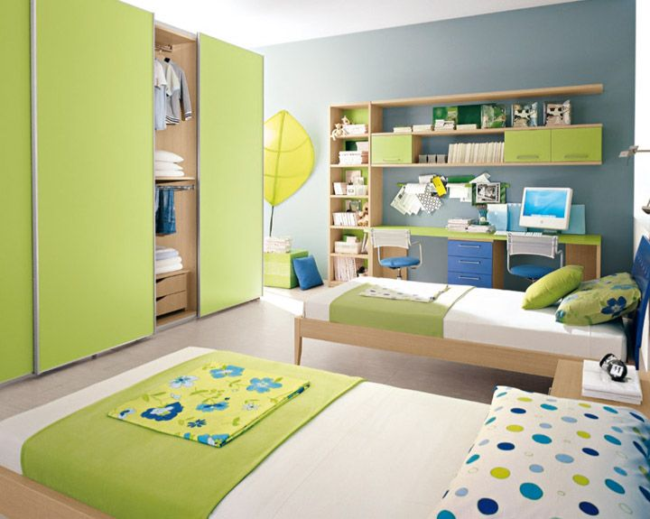 Interior Design Ideas For Childrenu0027s Bedrooms Using Green. Many Children  Are Embracing The U0027green Part 84