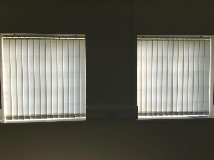Vertical blinds for a customer, Chester. Blindschester.co.uk