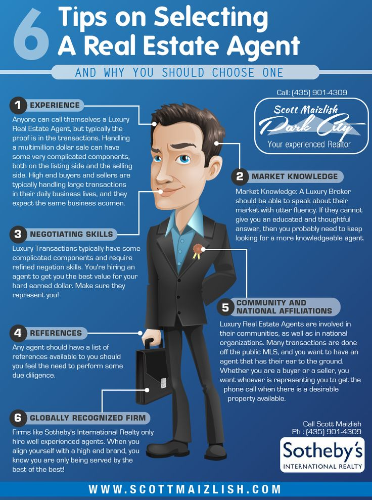 This is a really good infograph on how to chose the right REALTOR. It can with so many to choose from.  Here's a list of 6 important traits of  knowledgeable one