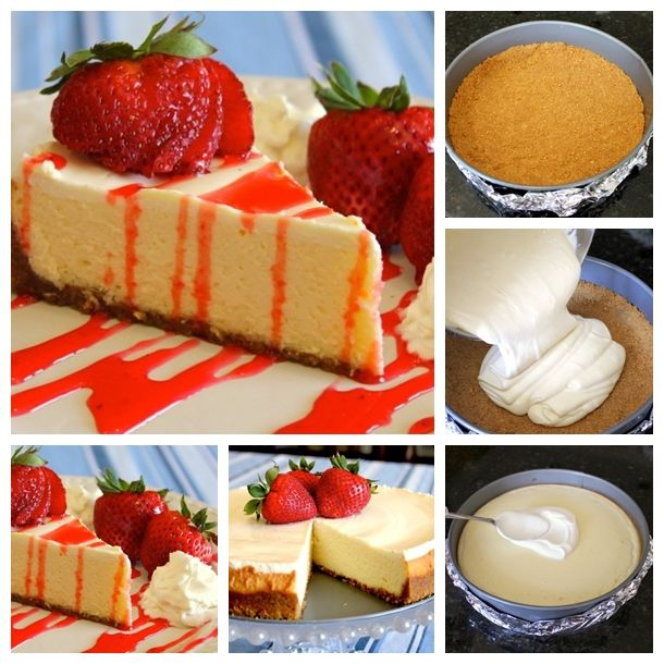 Wonderful DIY Homemade New York Style Cheesecake