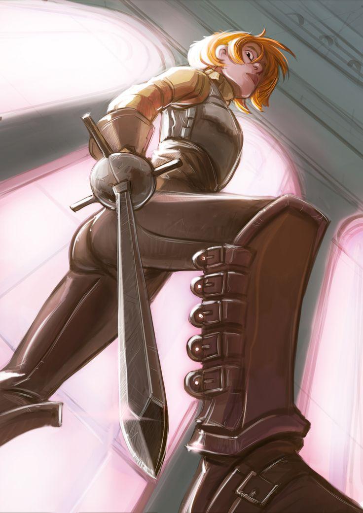 #Digicember 28 - Sword