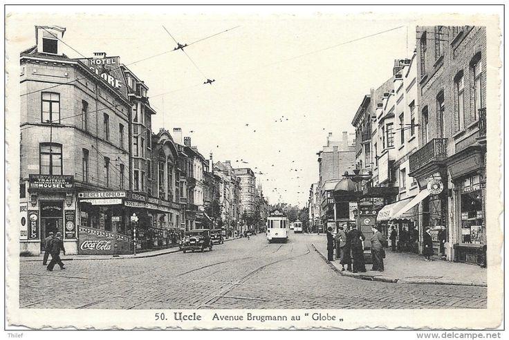 Uccle NA13: Avenue Brugmann au Globe ( Tramway )