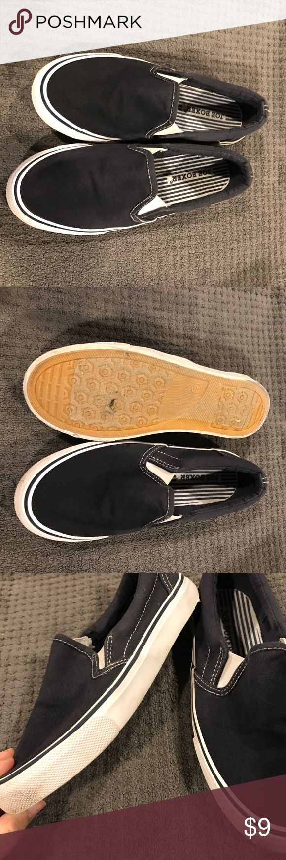 Boys Size 2 Joe Boxer Slip ons Great condition. Boys size 2 slip ons. Only worn a few times. Joe Boxer Shoes Moccasins
