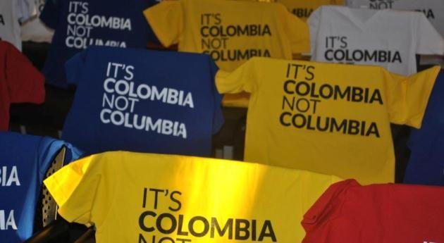 """""""Es Colombia, no Columbia"""", el nuevo eslogan en EE. UU.  """"Is Colombia not Columbia"""" Our new Slogan"""