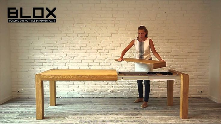 BLOX - folding dining table from MILONI