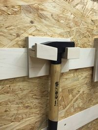 HolzwurmTom: French Cleat Aufhängesystem für Handwerkzeuge