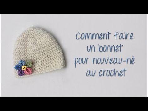 TUTO BONNET TOQUE CROCHET FACILE hat easy crochet relief GORRO RELIEVE CROCHET - YouTube