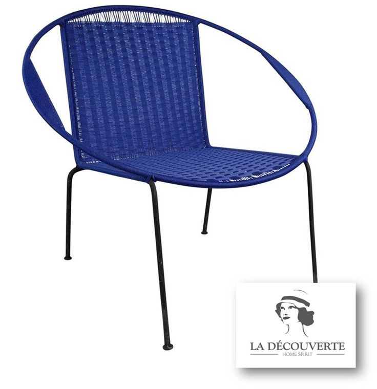 Best Fauteuils Tables Basses Colorés Nylon Tressé Images On - Fauteuils colores