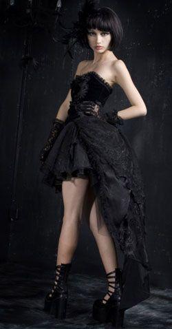 Belladonna Corset Dress - Gothic dresses