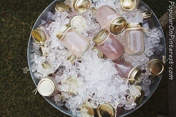 Mason Jar Cocktails! Or sangria!