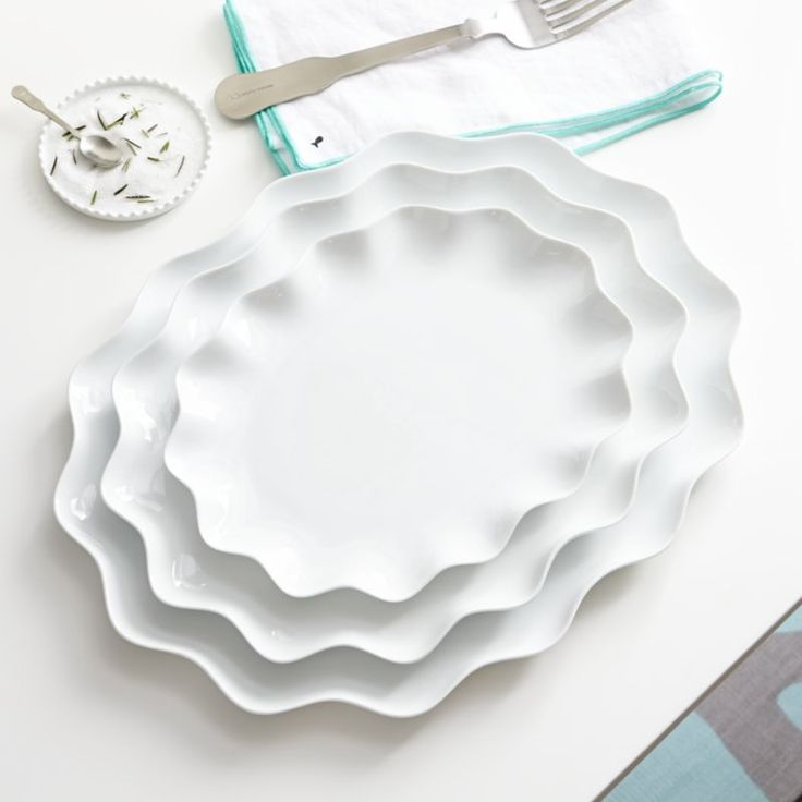 Mallorca Oval Platters    Crate and Barrel
