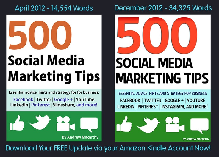 44 best my book images on pinterest social media marketing social have you downloaded the latest version of 500 social media marketing tips its free fandeluxe Image collections