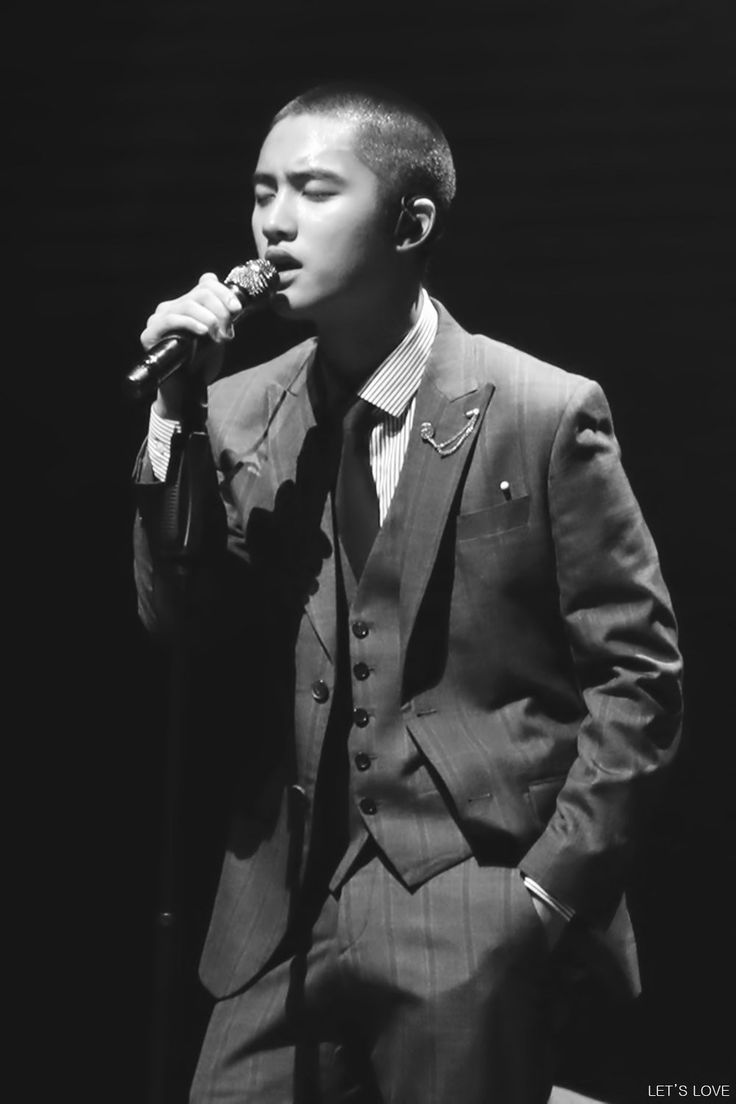 Singing For Life ver ENG, omg kyungsoo #Kyungsoo #EXO #handsome #black
