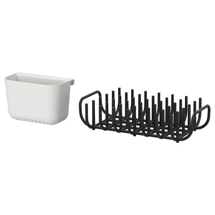 trendy ikea boholmen gouttoir vaisselle et couverts le sur. Black Bedroom Furniture Sets. Home Design Ideas