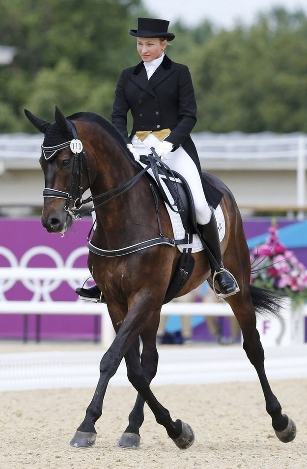 Passat! Ridden by Alena Tseliapushkina of Belarus.   Ummm...I changed my mind. I think this one is my fav.