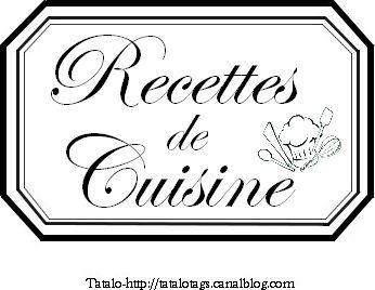 tatalo recettes de cuisine avec logo