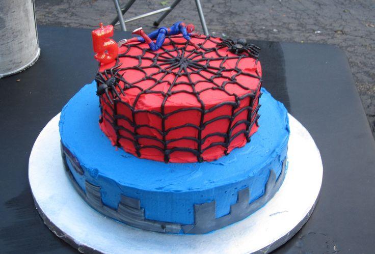die besten 25 spiderman torte ideen auf pinterest spiderman kuchen kuchen spiderman und. Black Bedroom Furniture Sets. Home Design Ideas