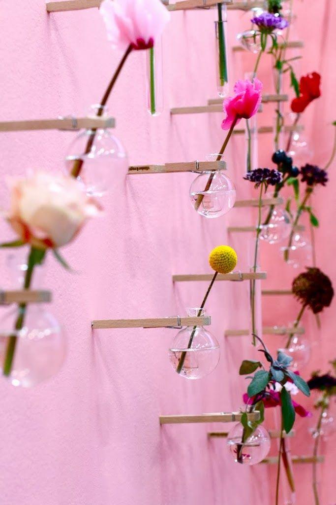 &SUUS | www.ensuus.nl | Bloemenwand Flavourites Live | Flowers on the wall |