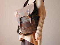 Leder Canvas Rucksäcke,Einkaufstaschen,Handtaschen
