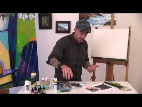 Liquitex Artist Materials- Paint Marker Uses- YouTube