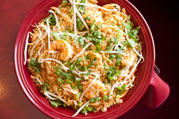"Curry Pad Thai from Thai Village part of Heather Tisdale's article on spicy foods in Tulsa ""Some Like It Hot"" read at http://tulsafood.com/best-of-tulsa/like-hot-tulsa/"