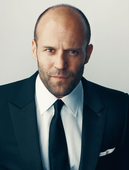 Jason Statham....balding can be sexy.......darn sexy!! :)