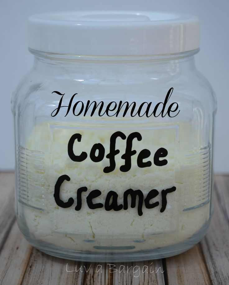 Homemade Powder Coffee Creamer -- So easy to make and much healthier and thrifty! LuvaBargain.com