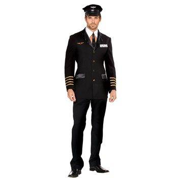 Cool Costumes Mile High Pilot Hugh Jorgan Costume just added...