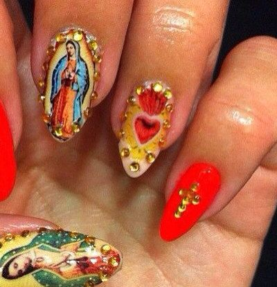 85 best nailing it images on pinterest clothes clothing and ave maria nails prinsesfo Gallery