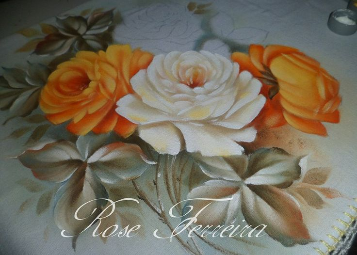 rosas do v deo jan 2014   Easy PaintingsFloral PaintingsDecorative PaintingsPainting  StylesPainting. 21 best CORGI PAINTINGS images on Pinterest   Paintings  Corgis