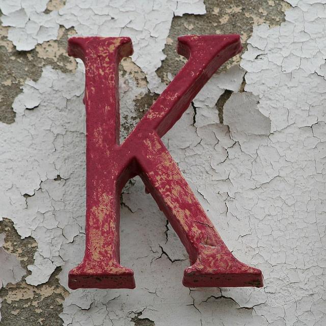 K: Crafts Ideas, Red, Style, Initials, Letters K, Senza Nápad, K Letters, Leo Reynolds, Letter K