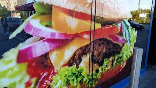 Orias vacsoraburger!