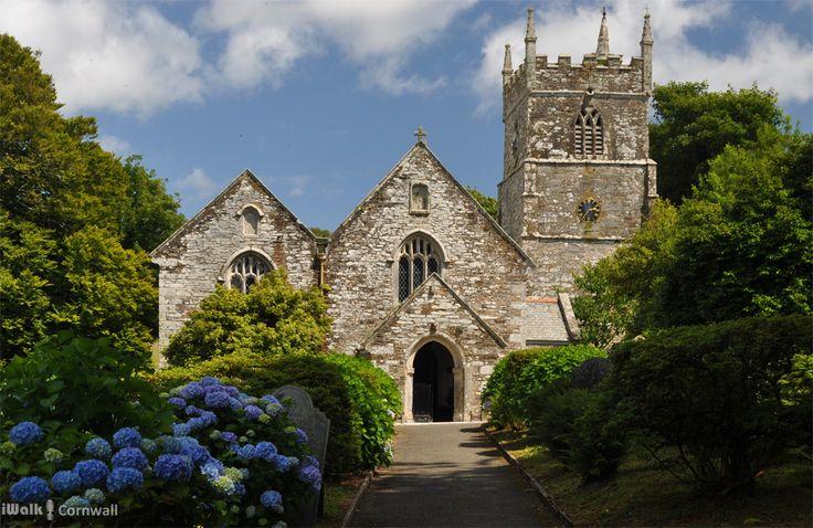 Veryan church, Cornwall