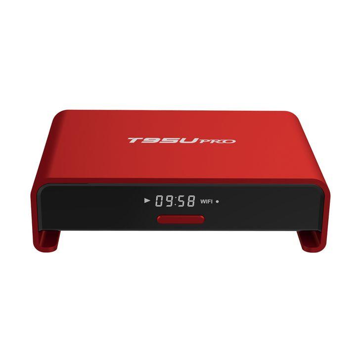 wow. red T95U PRO S912 Android6.0 dual wifi kodi17 http://sbird.xyz/ar0Onu  #wechip #T95UPRO #tvbox #Filmon #phoenix