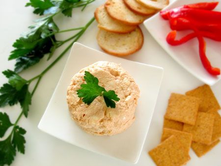 Salmon Dip - I made this this evening (using canned salmon because...grad school), and it is absolutely scrumptious!