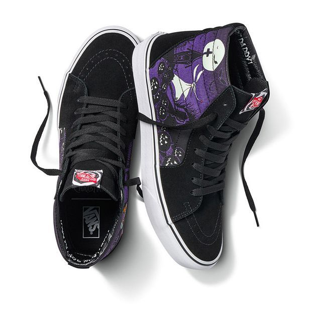 The Complete Nightmare Before Christmas Vans Collection Disney Vans Vans White Athletic Shoes