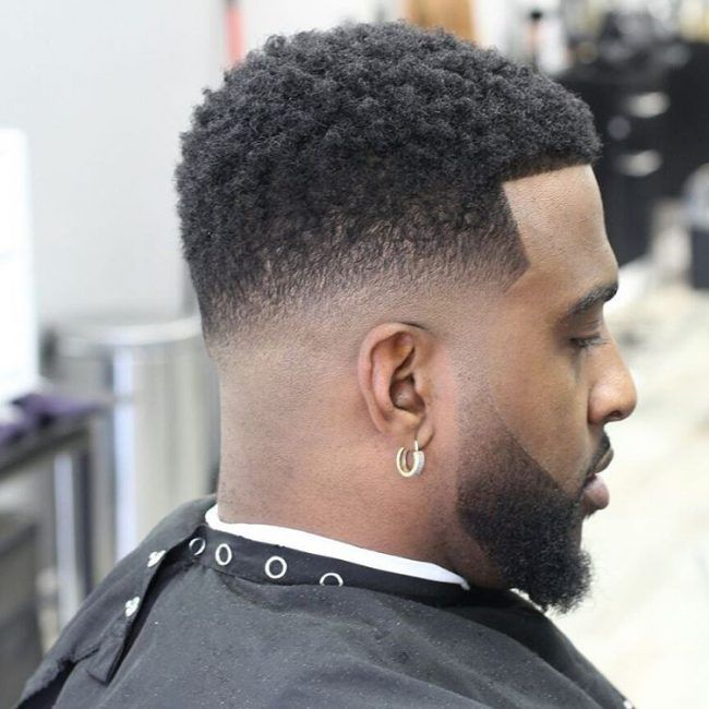 taper fade afro ideas