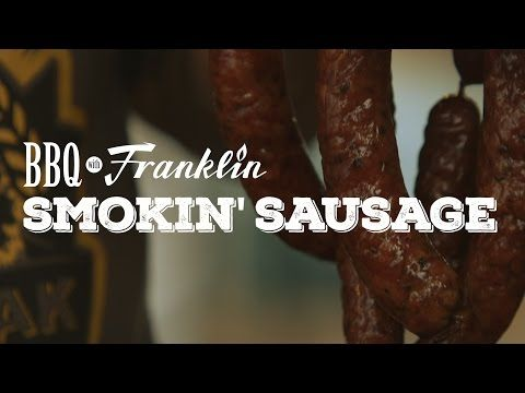 Homemade Smokin' Sausages with Aaron Franklin | Grilling with Rich